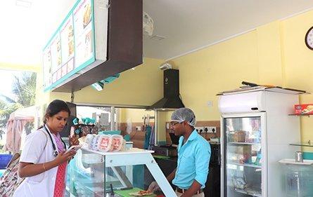 Canteen| Karpaga Vinayaga Institute Of Dental Science