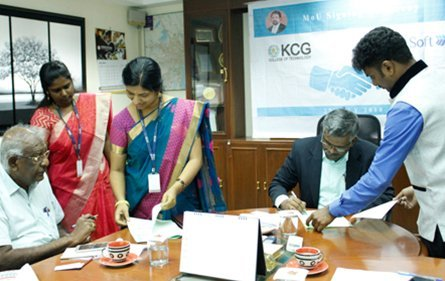 MOU | K.C.G College Of Technology