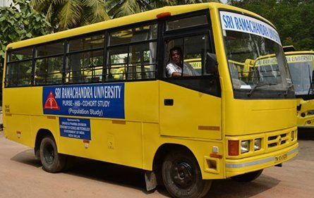 Transport | Sri Ramachandra Dental College