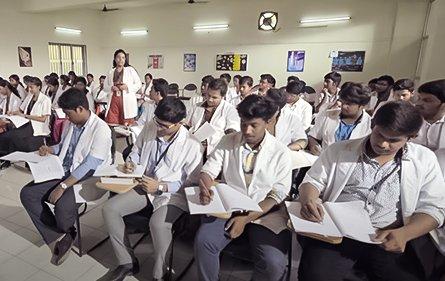 Lecture Hall | Shree Balaji Medical College & Hospital