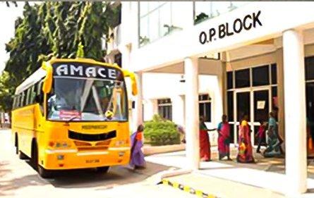 Transportation | Meenakshi Medical College Hospital & Research Institute