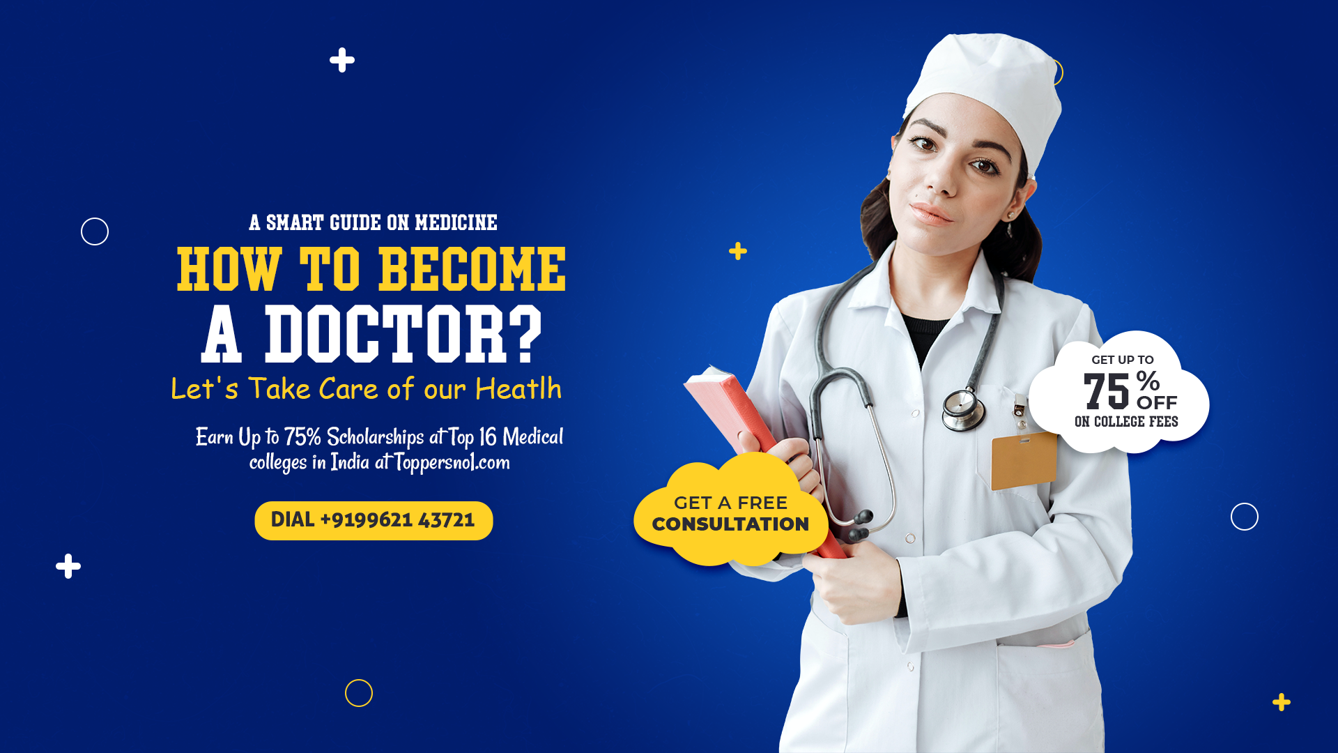 Smart guide to become a doctor