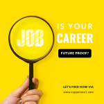 career future proof? Let's find how..